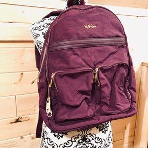 Kipling Purple Backpack Tote Bag